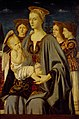 Piero della Francesca (school of) - The Virgin and Child and Three Angels.jpg