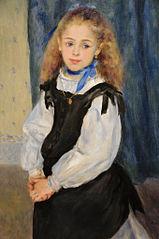 Portrait of Mademoiselle Legrand