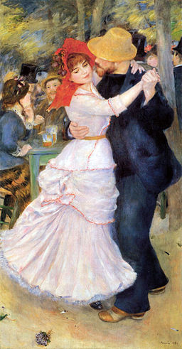 Pierre-Auguste Renoir - Dance at Bougival