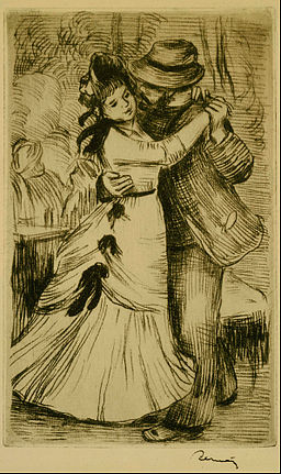 Pierre-Auguste Renoir - The Dance in the Country - Google Art Project