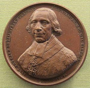 Alexandre Angélique de Talleyrand-Périgord - Medal depicting Talleyrand-Périgord, designed by Pierre Joseph Chardigny.