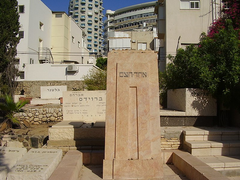 קבר אחד העם בתל אביב