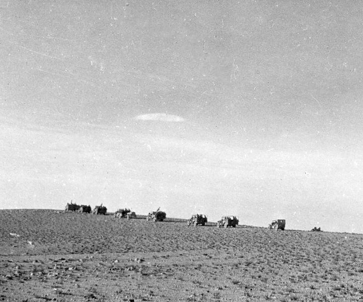 מבצע עובדה - בדרך לשדה אברהם