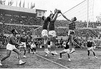 1952 FIVB Volleyball Men's World Championship - Israel Vs Soviet Union, 1952 FIVB Men's World Championship