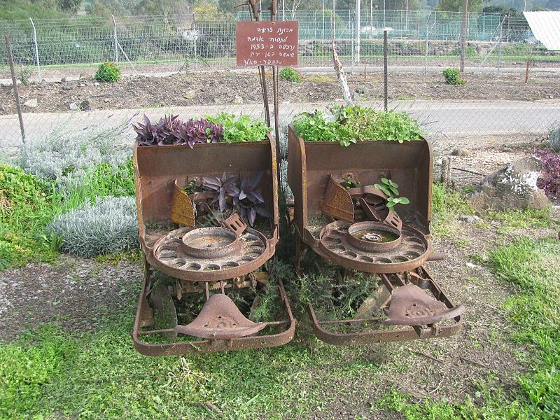 Kfar Szold Israel  city photo : מכונת זריעה לתפוחי אדמה שם תורם הצילום ...
