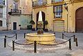 Plaça del Correu Vell de València, font.JPG
