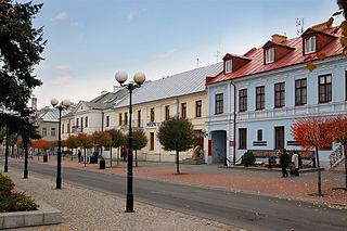 Biała Podlaska Place in Lublin Voivodeship, Poland