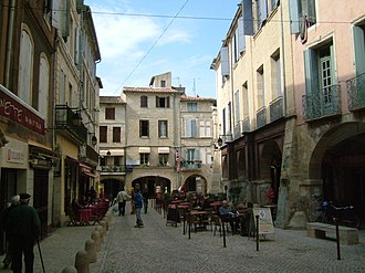 Sommières - Image: Place Sommière