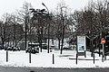 Place Martin-Nadaud (Paris) sous la neige 01.jpg