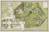 100px plan du jardin et chateau de la reine