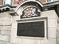 Plaque on Blackfriars Bridge - geograph.org.uk - 967905.jpg