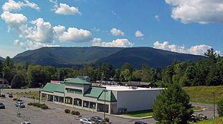 Plateau Mountain (New York) High Peak of New Yorks Catskill Mountains with two-mile (3.2 km) summit ridge