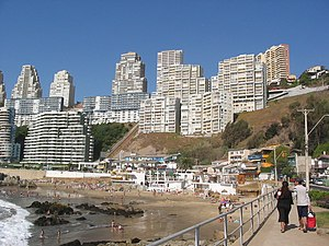 Concón - Image: Playa Concón