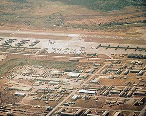 Pleiku Air Base - Pleiku Air Base South Vietnam – 1969