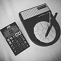 Pocket Operator PO-12 and Stylophone Beatbox drum-machines (46728566432).jpg
