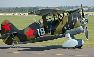 Polikarpov I-15 fighter aircraft