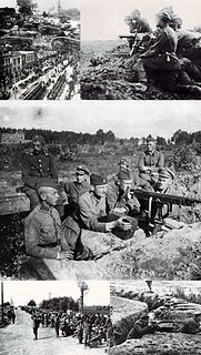 Polish–Soviet War 20th-century conflict between Poland and the USSR
