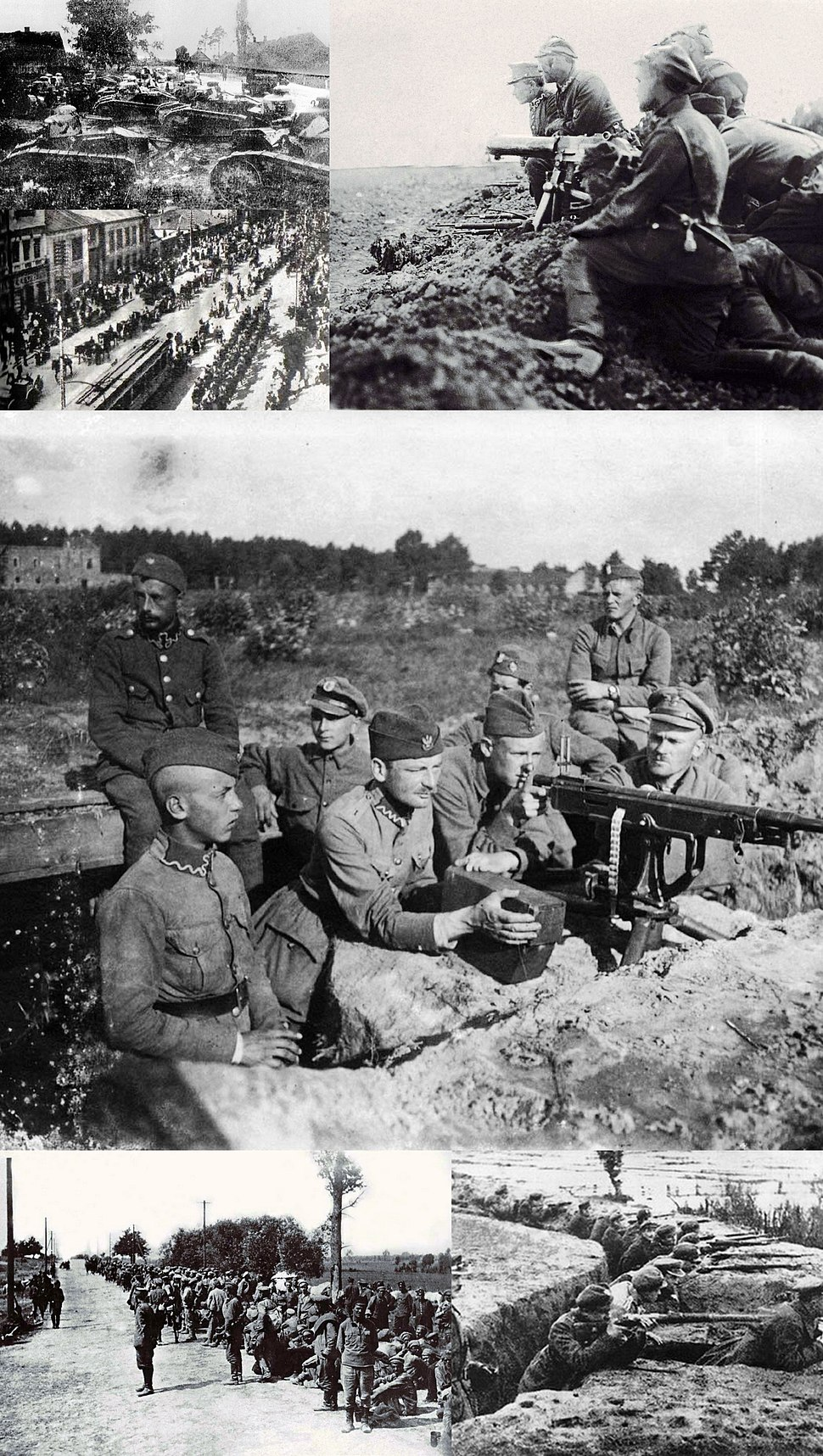 Polish-soviet war montage