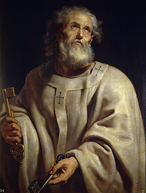 Theodore the Sacristan - Gregory the Great wrote that Saint Peter appeared to Theodore clad in white vestments.