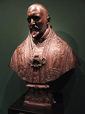 Bust of Pope Paul V - Bronze version of the bust, Copenhagen
