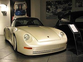 Porsche 959 - 1983 Porsche 959 concept car