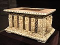 Portable Altar, about 1200-1220 AD, German, Cologne, walrus ivory, gilded copper, porphyry, enamel, over wooden core - Cleveland Museum of Art - DSC08581.JPG