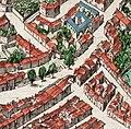 Portail Magnanen on 17th century Avignon map.jpg