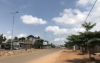 Porto-Novo - Downtown, in Porto-Novo