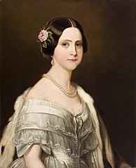 Portrait de S. A. I. Mme. la Princesse Dona Marie Amélie du Brésil