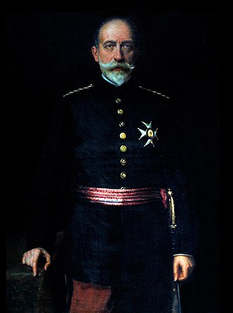 Arsenio Linares y Pombo - Image: Portrait of General Linares