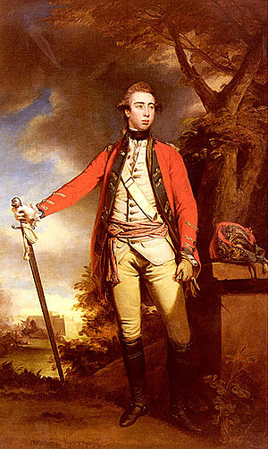 George Townshend, 2nd Marquess Townshend - Lord Townshend by Sir Joshua Reynolds.