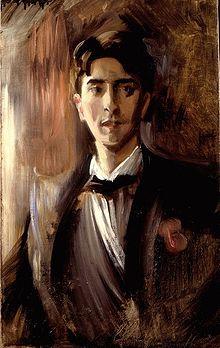 Jean Cocteau a circa 20 anni in un ritratto di Federico de Madrazo de Ocha
