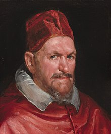 Portrait of Pope Innocent X (by Circle of Diego Velázquez) - National Gallery of Art.jpg