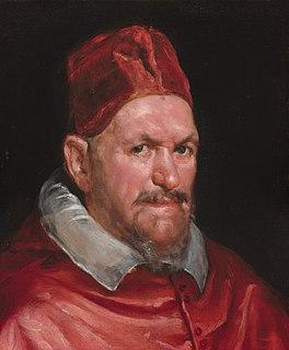 Pope Innocent X 17th-century Catholic pope