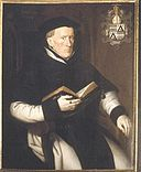 Portrait of Robrecht Holman - abbot of Abbey Ten Duinen 1571.jpg