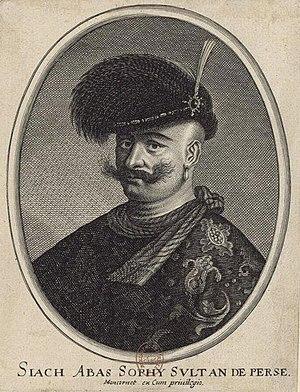 Portrait of Safavid ruler Abbas I
