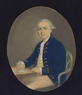 Samuel Wallis - Portrait of Samuel Wallis by Henry Stubble, c. 1785