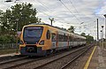 Portuguese Railways 3404 EMU at Granja Train Station.jpg