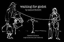 "Poster for drama performance of ""Waiting for Godot"".jpg"