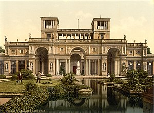 Orangery Palace - The Orangery Palace around 1900