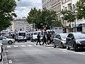 Présence policière avenue Berthelot à Lyon en marge d'une manifestation des gilets jaunes (mai 2019).jpg