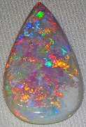 Opal, one of two October birthstones