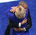 President Barack Obama and Hillary Clinton Hug (28601038935) (2) (cropped1).jpg