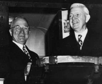 Martin H. Kennelly - Kennelly with President Harry S. Truman during a presidential visit to Chicago in 1948