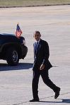 President Obama arrives at Dobbins ARB 130214-F-AC256-228.jpg