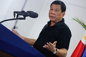 Political positions of Rodrigo Duterte - Rodrigo Duterte speaking in Davao City on September 30, 2016