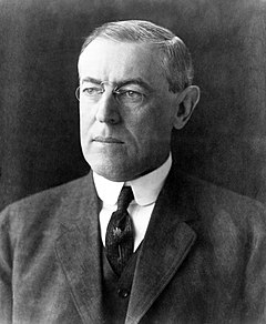 March 4: Wilson sworn in as the 28th president of the United States. President Woodrow Wilson portrait December 2 1912.jpg