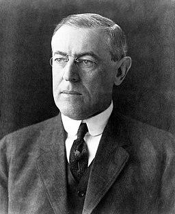 President Woodrow Wilson portrait December 2 1912