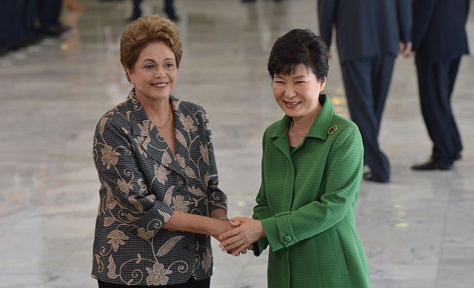 Presidente da Coreia do Sul, Park Geun-hye, visita o Brasil