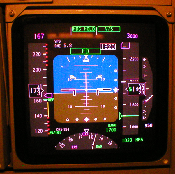 File:Primary Flight Display, Boeing 747-400.png